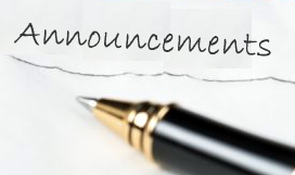 Image of Announcements